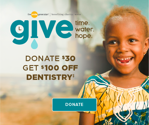Donate $30, Get $100 Off Dentistry - Baytown Modern Dentistry